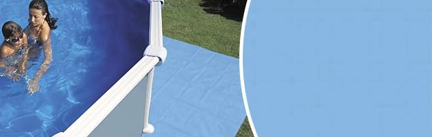 Tapis de sol Toi SWIMLUX piscine hors-sol ovale 7.3 x 3.66m - Avantages des tapis de sol Toi SWIMLUX