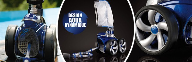 Robot piscine hydraulique POLARIS 3900S a pression - Robot piscine POLARIS 3900S Un robot performant et efficace