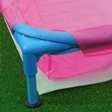 Piscine hors-sol enfant Toi BABY POOL carree 0.85 x 0.85m coloris bleu - Kit piscine enfant complet
