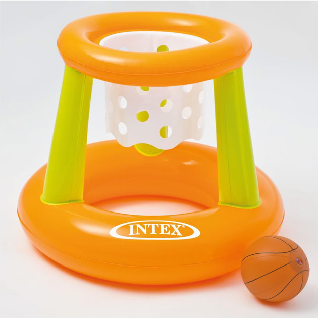 Jeu gonflable Intex BASKET BALL dimensions 67 x 65cm avec ballon - Avantages du jeu gonflable Intex BASKET BALL avec ballon