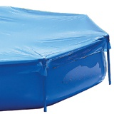 Piscine hors-sol Toi TUBULARES COMPLET 2.0 x 2.0 x 0.5m carree - Kit piscine enfant complet Toi TUBULARES COMPLET