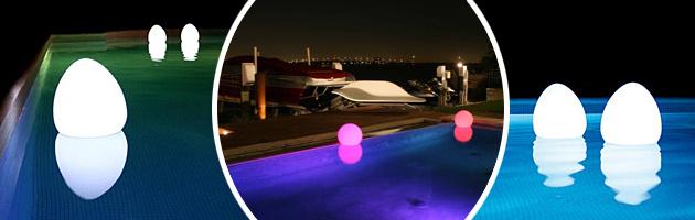 Lampe sans fil Loon BALLOON a LED Ø80cm pour piscine et jardin - La lampe sans fil Loon BALLOON à LED pour piscine et jardin