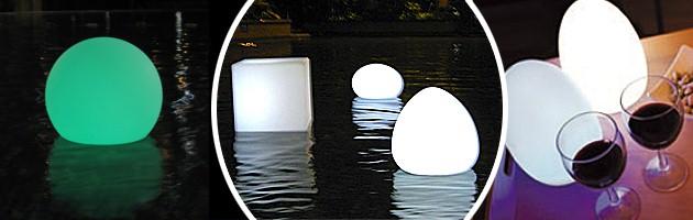 Lampe sans fil Loon BALLOON a LED Ø80cm pour piscine et jardin - Caractéristiques de la lampe sans fil Loon BALLOON à LED pour piscine et jardin
