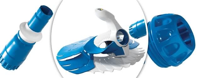 Robot piscine hydraulique Zodiac T5 DUO - Nettoyeur de piscine Zodiac T5 DUO Le concentré de technologies brevetées
