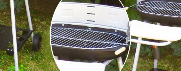 Barbecue Somagic BORNEO au charbon de bois - Somagic, une marque de renom depuis 30 ans