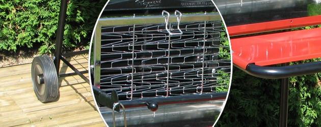 Barbecue Somagic RAYMOND au charbon de bois - Somagic, une marque de renom depuis 30 ans