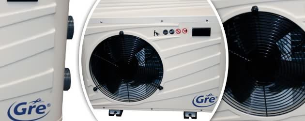Pompe a chaleur Gre DREAMPAC PRO Titane 8.5kW piscine jusqu'a 60m³ - Pompe à chaleur Gré DREAMPAC PRO Pour un chauffage efficace de votre bassin