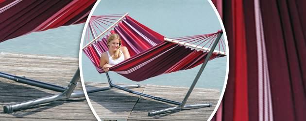 Hamac Amazonas Summer Set coloris fuego 210 x 140cm - Caractéristiques du Summer Set coloris fuego