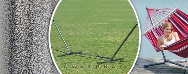 Support de hamac Amazonas Sumo Rockstone 270-330 x 105 x 110cm - Caractéristiques du support de hamac Sumo Rockstone