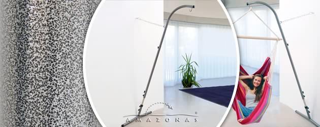 Support de fauteuil suspendu hamac Amazonas Palmera Rockstone 100 x 225-250 x 60cm - Caractéristiques du support de fauteuils suspendus hamacs Palmera Rockstone