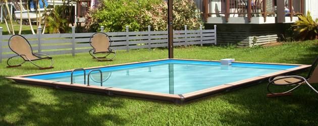Kit piscine bois Water Clip PLATINUM rectangulaire 678 x 518 x 147cm - Piscine bois Water Clip PLATINUM Luxueuse et dotée d'un équipement complet