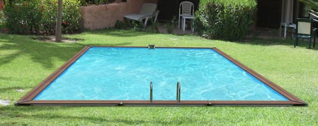 Kit piscine bois Water Clip PLATINUM rectangulaire 828 x 518 x 147cm - Piscine bois Water Clip PLATINUM Luxueuse et dotée d'un équipement complet
