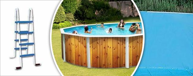 Kit piscine hors-sol acier Toi VETA ovale 7.30 x 3.66 x 1.20m decor bois - Avantages des piscines Toi VETA