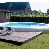 Kit piscine hors-sol autoportante Zodiac OVLINE 4000 ovale 11.20 x 7.30 x 1.30m - Zodiac Original OVLINE, un kit complet prêt à se baigner