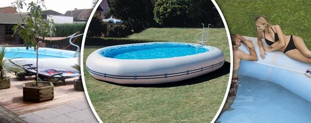 Kit piscine hors-sol autoportante Zodiac OVLINE 4000 ovale 11.20 x 7.30 x 1.30m - Piscines Zodiac Original OVLINE Profitez pleinement de votre bassin !