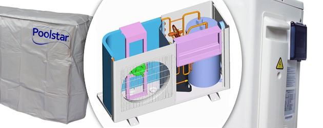 Pompe a chaleur Poolex JETLINE 65 MONO reversible 6,5kW jusqu'a 45m³ - Avantages des pompes à chaleur piscine POOLEX JETLINE