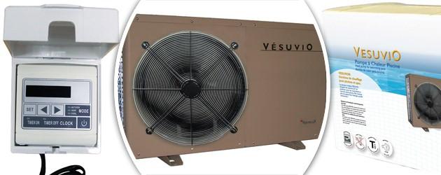 Pompe a chaleur Aqualux VESUVIO reversible 12kw mono pour piscine jusqu'a 90m³ - Avantages des pompes à chaleur piscine Aqualux VESUVIO