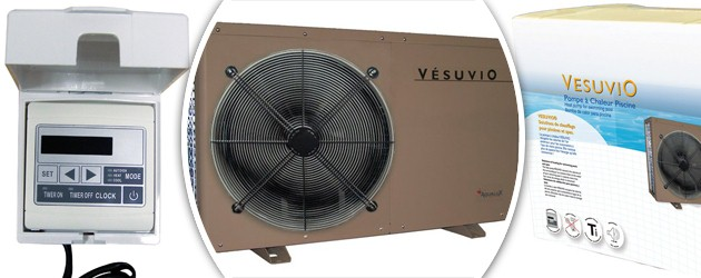 Pompe a chaleur Aqualux VESUVIO reversible 16.5kw mono pour piscine jusqu'a 120m³ - Avantages des pompes à chaleur piscine Aqualux VESUVIO