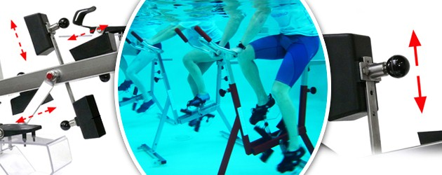 Aquabike Archimede DIAMOND cadre inox satine pour piscine - Aquabike Archimède DIAMOND Pour un usage au quotidien