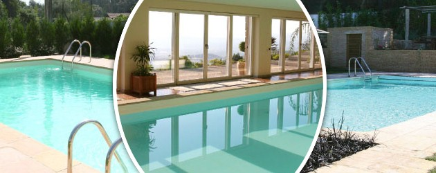 Piscine enterree acier Sunkit rectangulaire a fond compose 5.0m x 3.0m x 1.50m liner bleu pale - Avantages des piscines Sunkit enterrées en acier