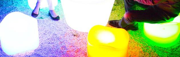 Vase lumineux filaire Loon KEOPS 45x45x110cm pour piscine et jardin - Vase lumineux filaire Loon KEOPS pour piscine et jardin