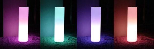 Lampe filaire Loon TOWER SLIM Ø30x106cm pour piscine et jardin - Caractéristiques de la lampe filaire Loon TOWER pour piscine et jardin