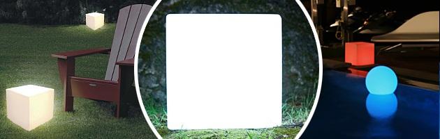 Lampe Loon KUBE ProLite 35x35cm pour piscine et jardin - Caractéristiques de la lampe sans fil Loon KUBE pour piscine et jardin