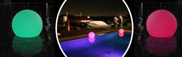 Lampe filaire Loon BALLOON Ø50cm pour piscine et jardin - Caractéristiques de la lampe filaire Loon BALLOON pour piscine et jardin