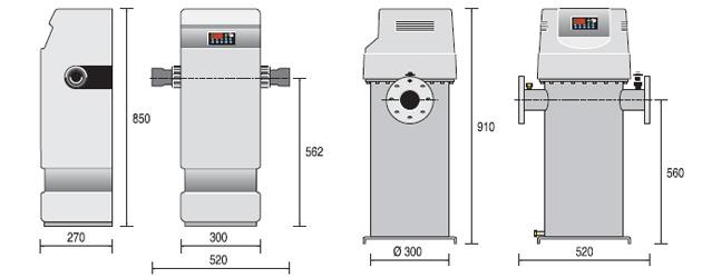 Rechauffeur electrique industriel Zodiac RE en U 84kW tri pour bassin de plus de 150m³ - Avantages du réchauffeur électrique industriel Zodiac RE en U