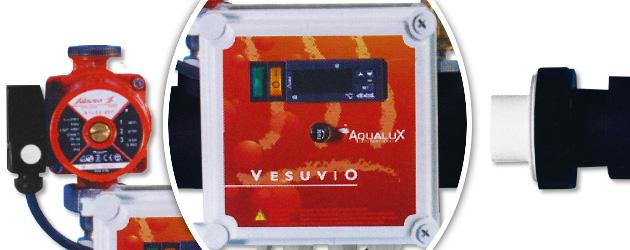 Echangeur tubulaire titane VESUVIO 47.5kW equipe - Avantages de l'échangeur de chaleur tubulaire VESUVIO