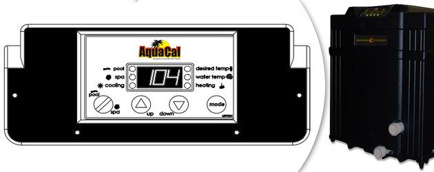 Pompe a chaleur Aquacal SUPERQUIET SQ120 tri 30kW jusqu'a 180m³ - Avantages des pompes à chaleur piscine Aquacal SUPERQUIET