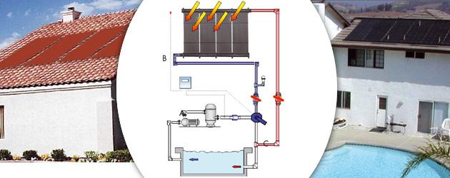 Kit chauffage solaire heliocol pour piscine enterr e 5x12m for Kit chauffage solaire piscine