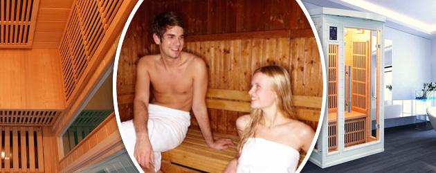 Sauna infrarouge cabine 5 places SOLEIL BLANC puissance 2685W - Les origines du sauna La Finlande