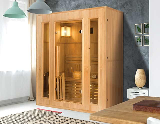 Sauna vapeur cabine 2 places ZEN 2 France Sauna - Sauna vapeur cabine 2 places France Sauna ZEN 2, caractère et robustesse