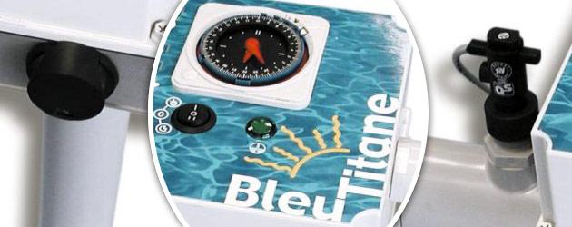 Rechauffeur electrique Bleu Titane RTI-C 9kW Titane pour bassin de 30m³ a 80m³ - Avantages du réchauffeur piscine Bleu Titane