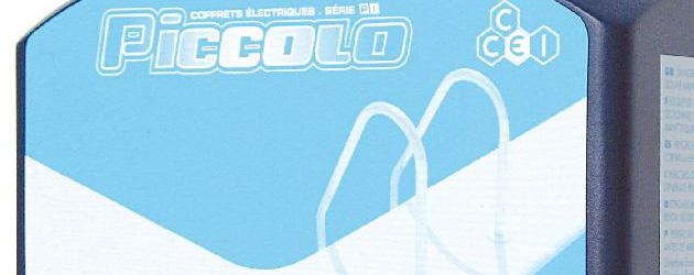 Coffret electrique PICCOLO PI-305LTE commande deportee pour filtration et projecteur - Caractéristiques techniques du coffret électrique PICCOLO