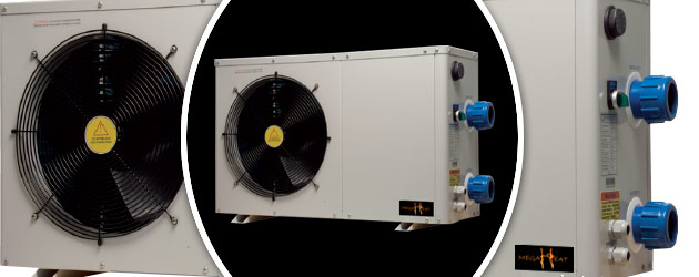 Pompe a chaleur MegaHeat ECO 4.5kW titane monophasee - Avantages des pompes à chaleur piscine MegaHeat ECO