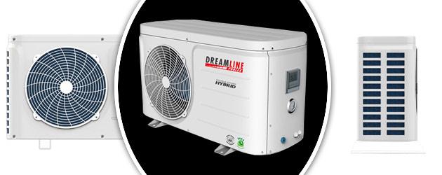 Pompe a chaleur Poolex DREAMLINE HYBRID 65-6 reversible mono jusqu'a 45m³ - Avantages des pompes à chaleur piscine Poolex DREAMLINE HYBRID