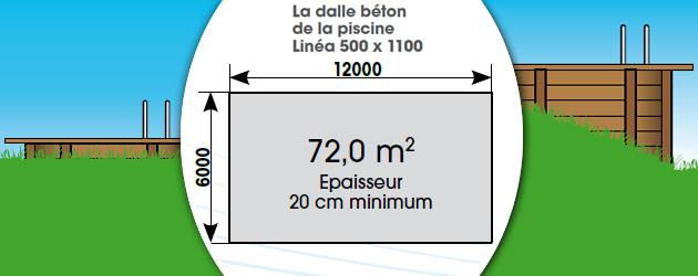 Kit piscine bois Nortland Ubbink LINEA rectangulaire 5.00 x 11.00 x 1.40m liner beige - Avantages des piscines bois Nortland Ubbink LINEA