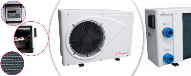 Pompe a chaleur Aqualux ETNA 9.6kW mono pour piscine jusqu'a 50m³ - Avantages des pompes à chaleur piscine Aqualux ETNA