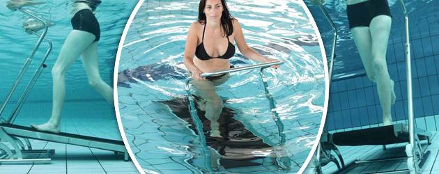 Tapis de course Waterflex AQUAJOGG pour piscine - Waterflex AQUAJOGG Un tapis de course aquatique révolutionnaire