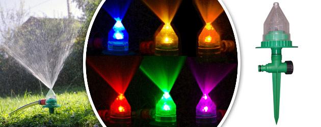 Brumisateur arroseur O'Fresh a LED 7 couleurs - Brumisateur arroseur O'Fresh à LED 7 couleurs