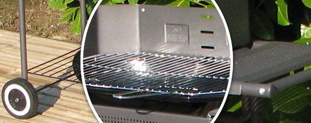 Barbecue Somagic PORT CAMARGUE a charbon - Somagic, une marque de renom depuis 30 ans