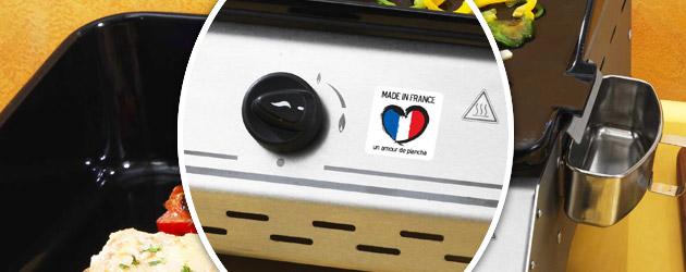 Plancha Somagic MADE IN FRANCE 3 feux au gaz - Somagic, une marque de renom depuis 30 ans