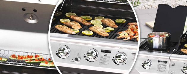 Barbecue Somagic BALTIMORE au gaz - Somagic, une marque de renom depuis 30 ans