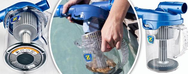 Piege a feuilles Zodiac CYCLONIC LEAF CATCHER pour robot piscine hydraulique - Piège à feuilles Zodiac CYCLONIC LEAF CATCHER pour robot piscine hydraulique