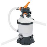 Kit piscine tubulaire Bestway POWER STEEL FRAME POOL rectangulaire 671x366x132cm filtration sable - Kit piscine complet Bestway POWER STEEL FRAME POOL