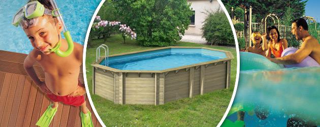 Piscine hors-sol bois BWT myPOOL TROPIC OCTO+ 540 H120cm - Avantages des piscines bois BWT myPOOL TROPIC