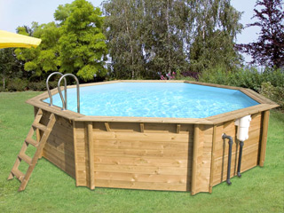 piscine bois promotion