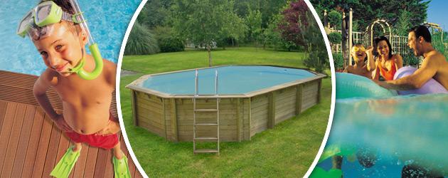 Piscine hors-sol bois ProSwell WEVA OCTO+ 840 H146cm - Avantages des piscines bois ProSwell WEVA